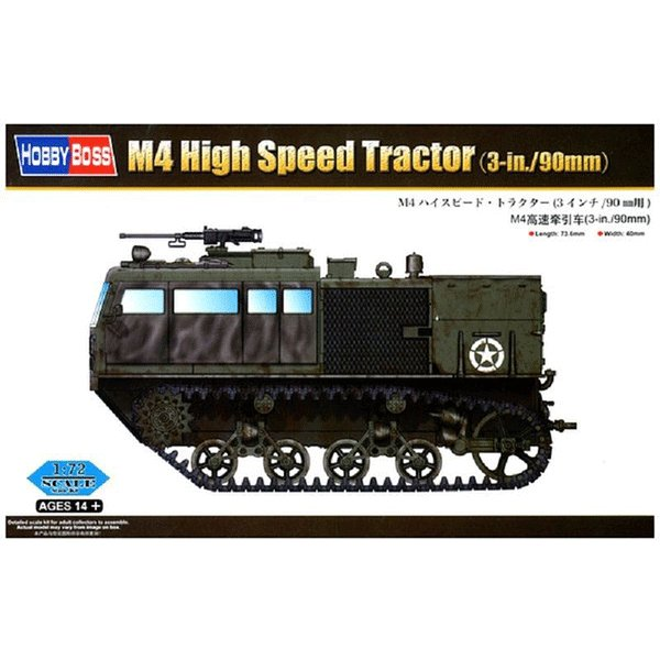 HOBBYBOSS-1-72-M4-HIGH-SPEED-TRACTOR--3-in90mm