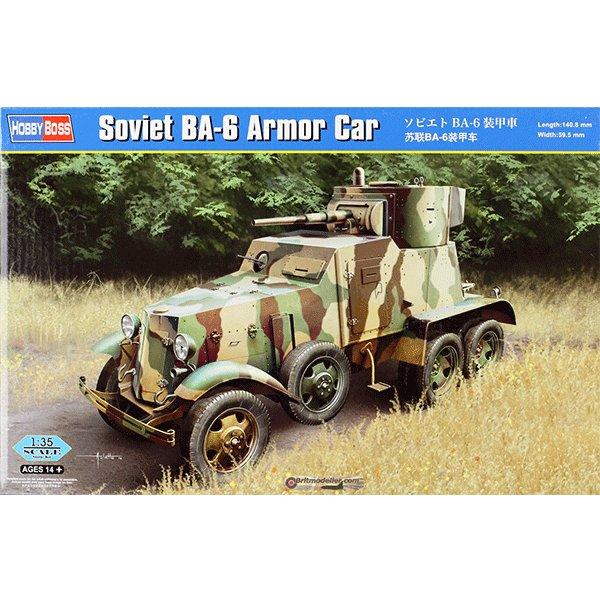 HOBBYBOSS-1-35-SOVIET-BA-6-ARMOR-CAR HOBBYBOSS 83839