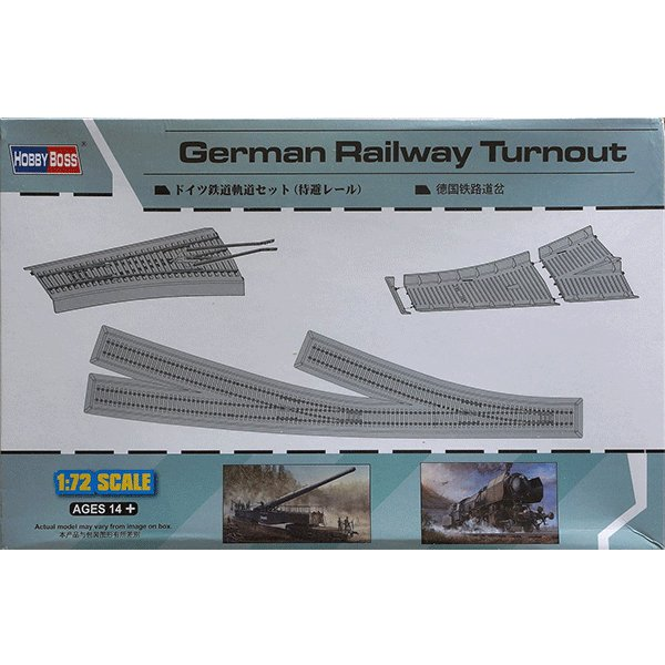 HOBBYBOSS-1-72-GERMAN-RAILWAY-TURNOUT