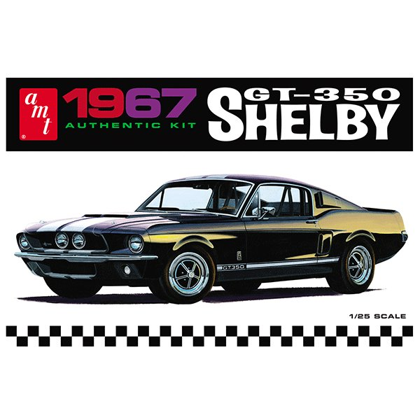 AMT-MODEL-KIT-1-25-1967-SHELBY-GT-350