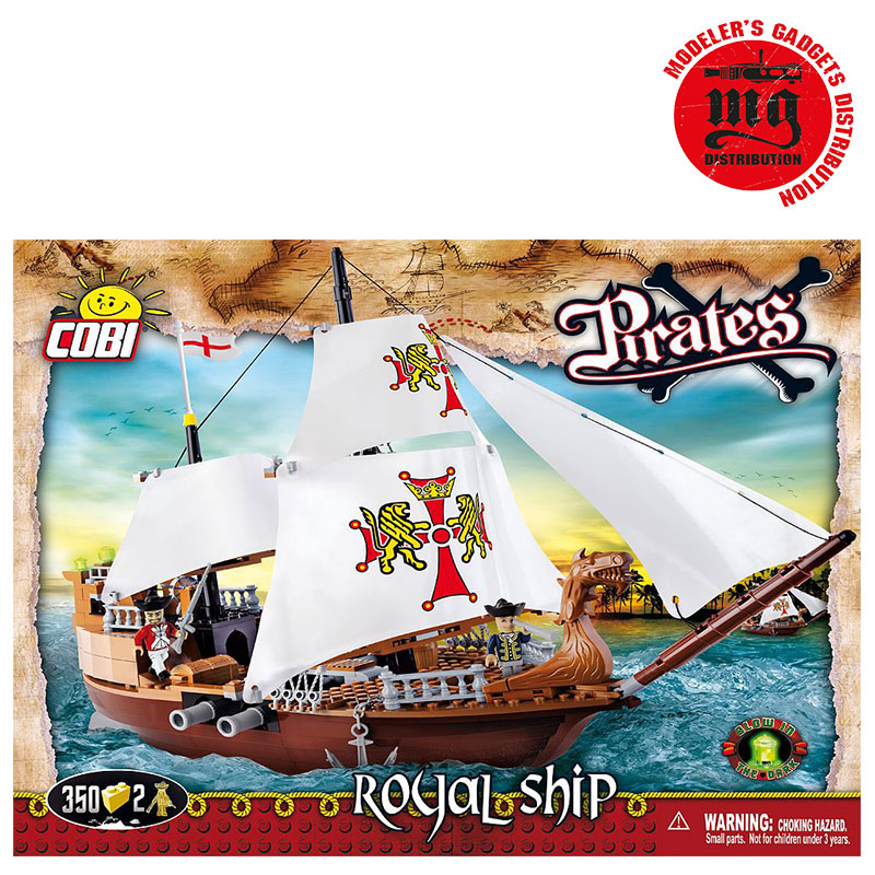 ROYAL SHIP BARCO PIRATA COBI 6018