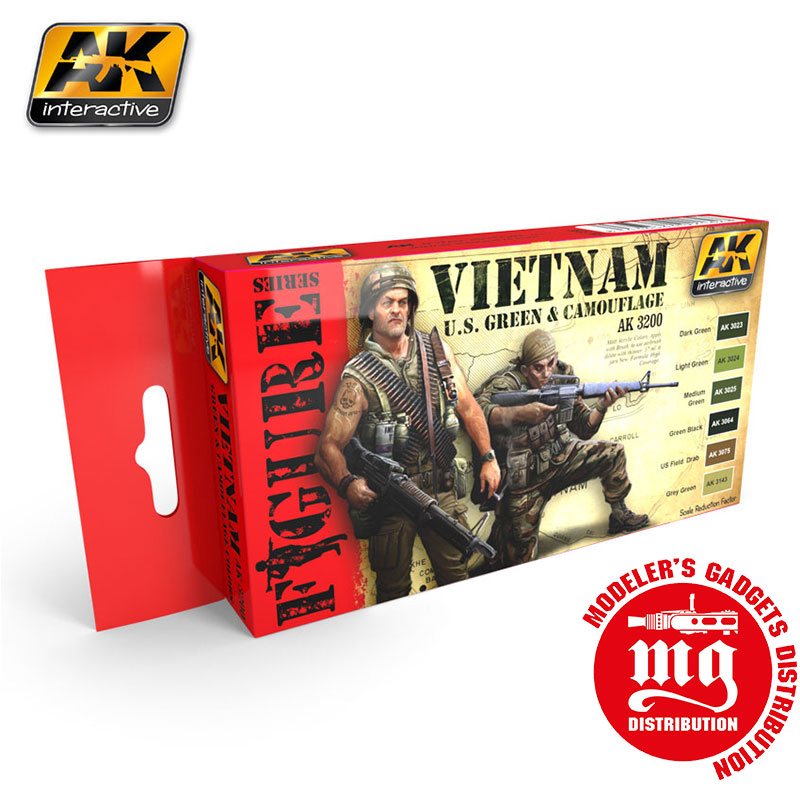 VIETNAM-U.S.-GREEN-AND-CAMOUFLAGE--FIGURE-SERIES-AK3200