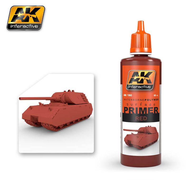 RED PRIMER 60ML  AK180