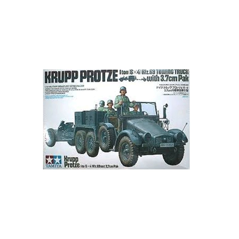 KRUPP-PROTZE-I-TO-(6X4)-Kfz.69-mit-3,7-cm-Pak