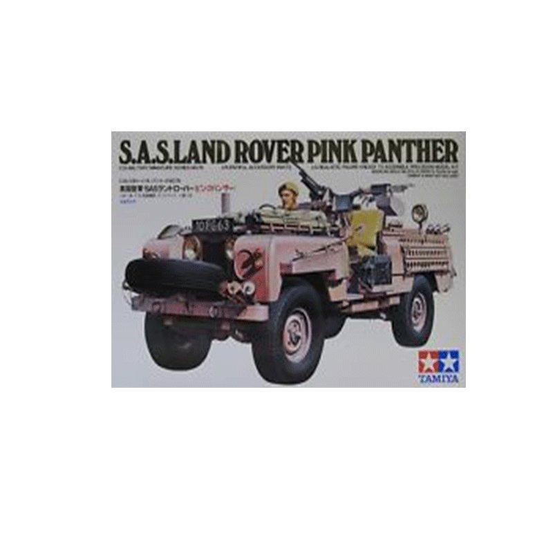 S.A.S.-LAND-ROVER-PINK-PANTHER ESCALA 1:35 TAMIYA 35076