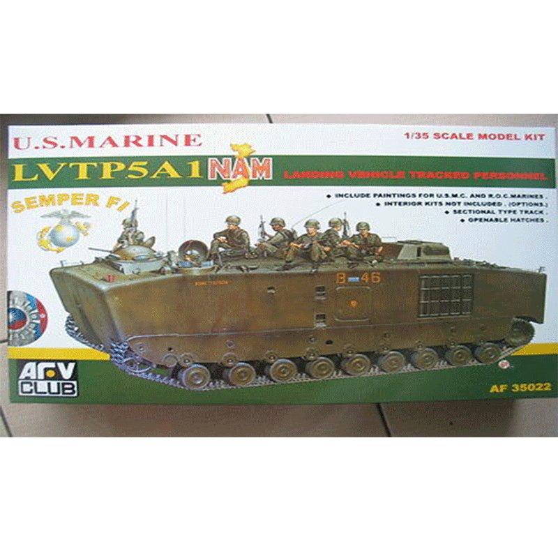 U.S.-MARINE-LVTP5A1-NAM AFV CLUB AF35022