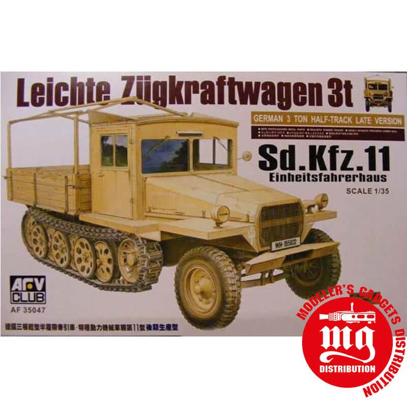 LEICHTE-ZÜGKRAFTWAGEN-3T-Sd.-Kfz.11-EINHEITSFAHRERHAUS