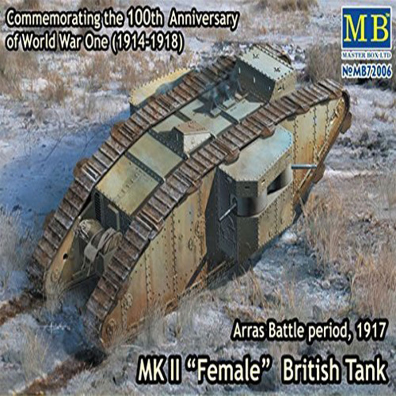 MK-II-FEMALE-BRITISH-TANK-ARRAS-BATTLE-PERIOD,-1917.