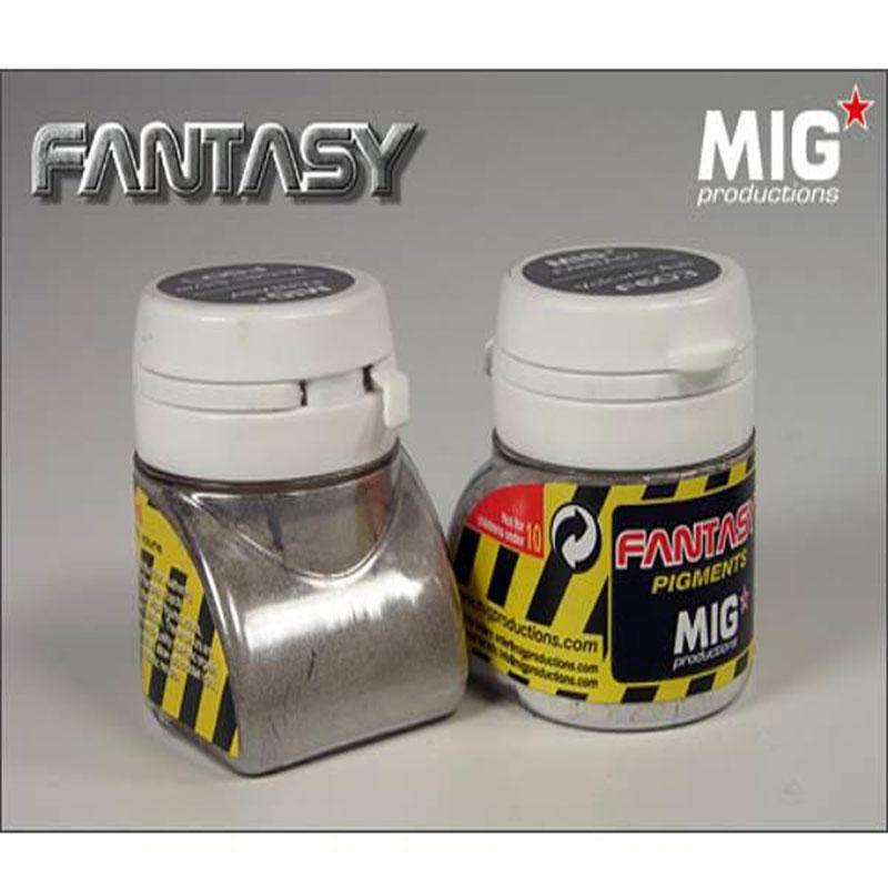 PIGMENTO-COLOR-METALLIC-SILVER-MIG-FANTASY F607