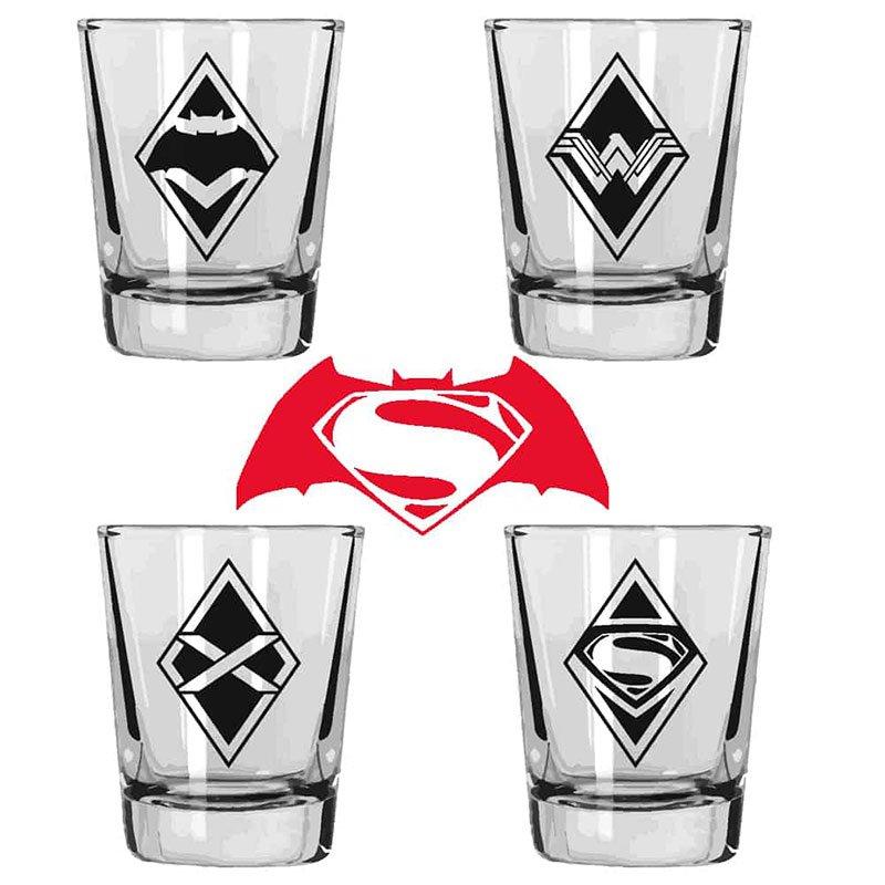 SET-DE-4-MINI-VASOS-BATMAN-Y-SUPERMAN