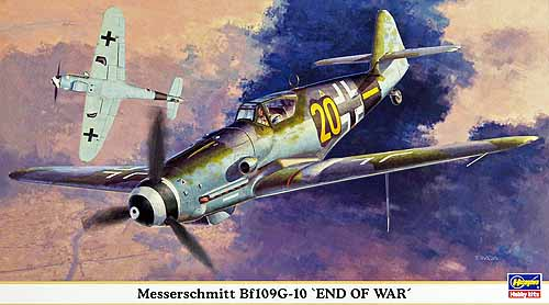 MESSERSCHMITT Bf109G-10 END OF WAR