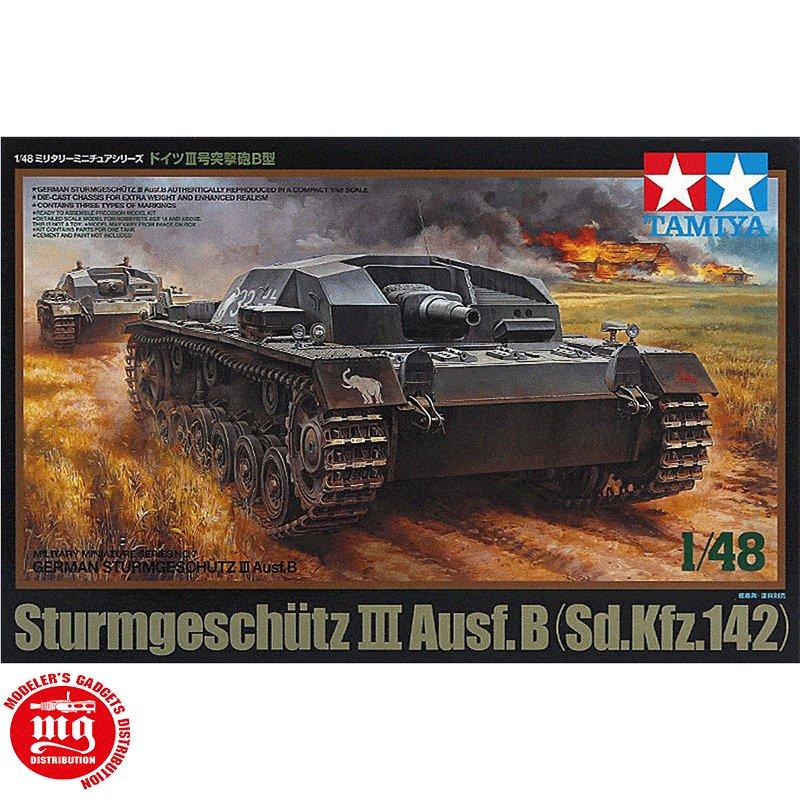 STURMGESCHÜTZ-III-Ausf.B-Sd.Kfz.142-TAMIYA-32507