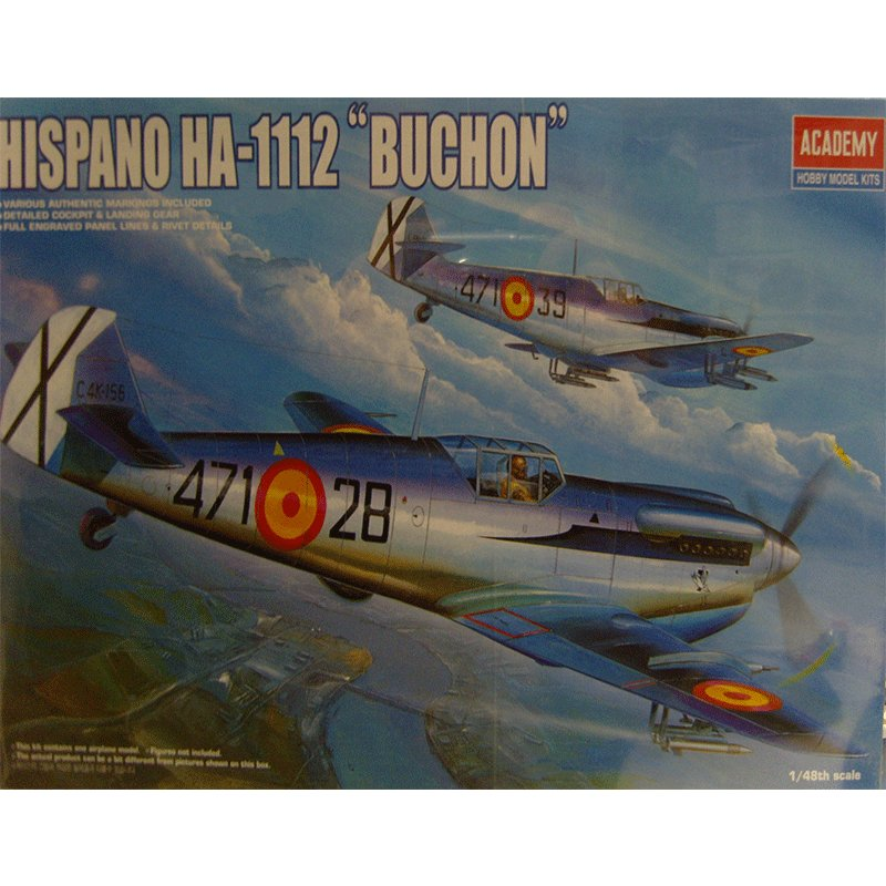 HISPANO-HA-1112-BUCHON
