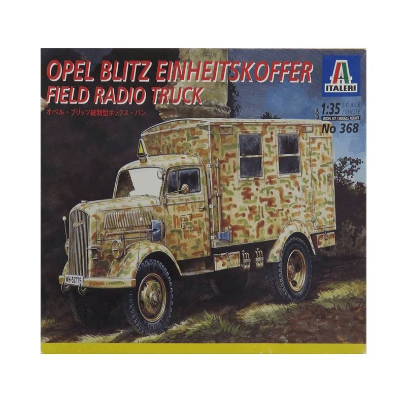 OPEL-BLITZ-EINHEITSKOFFER-FIELD-RADIO-TRUCK