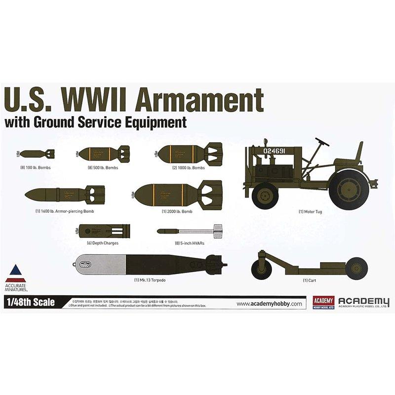 U.S.-WWII-ARMAMENT ACADEMY 12291