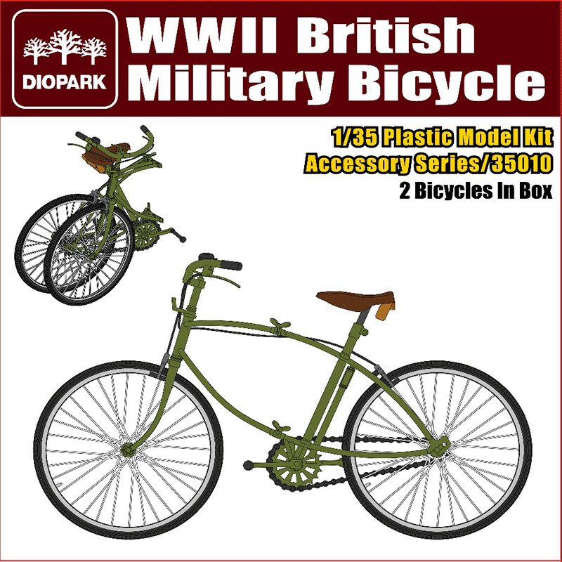 WWII-BRITISH-MILITARY-BICYCLE