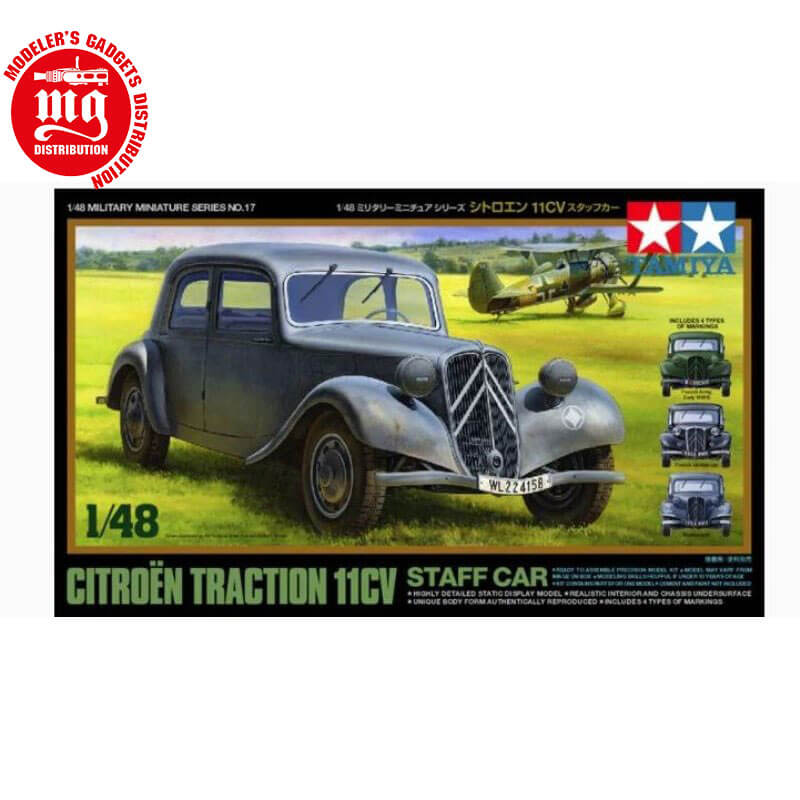 CITROËN-TRACTION-11CV-STAFF-CAR