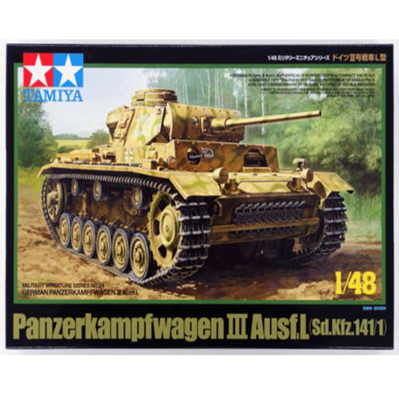 PANZERKAMPFWAGEN-III-Ausf.L-(Sd.Kfz.1411) TAMIYA 32524 ESCALA 1:48