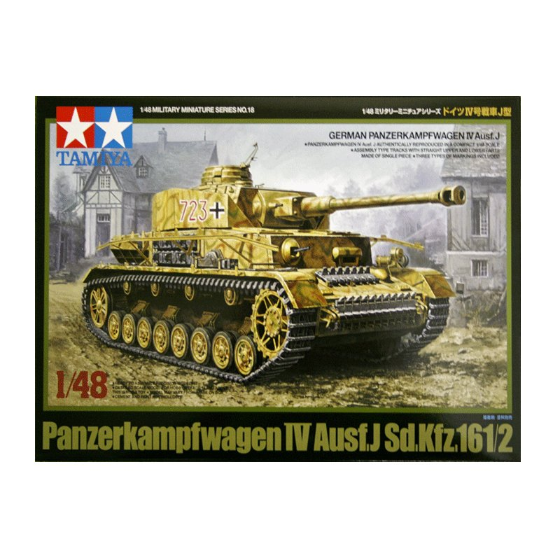 PANZERKAMPFWAGEN-IV-Ausf.J-Sd.Kfz.161-2 TAMIYA 32518 ESCALA 1:48