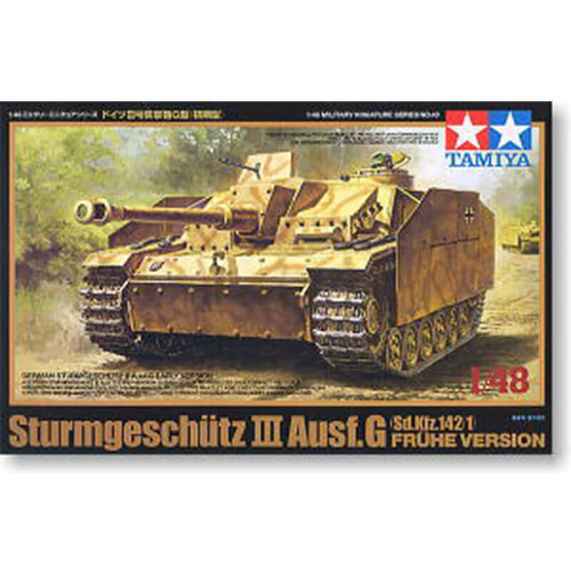 STURMGESCHÜTZ III Ausf.G Sd.Kfz.142/1 FRÜHE VERSION TAMIYA 32540 ESCALA 1:48