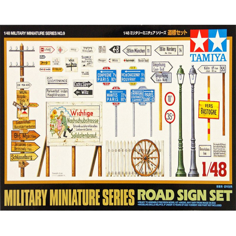 MILITARY-MINIATURE-SERIES-ROAD-SIGN-SET