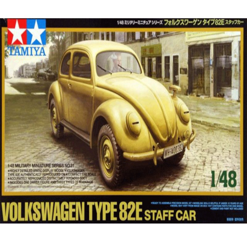 VOLKSWAGEN-TYPE-82E-STAFF-CAR TAMIYA 32531 ESCALA1:48
