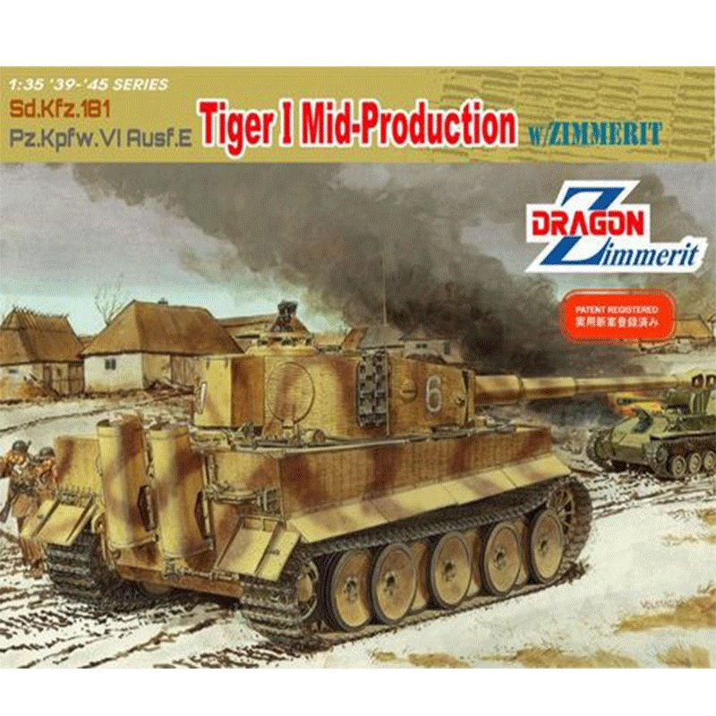 Sd.Kfz.181-Pz.Kpfw.VI-Ausf.E-TIGER-I-MID-PRODUCTION-WITH-ZIMMERIT