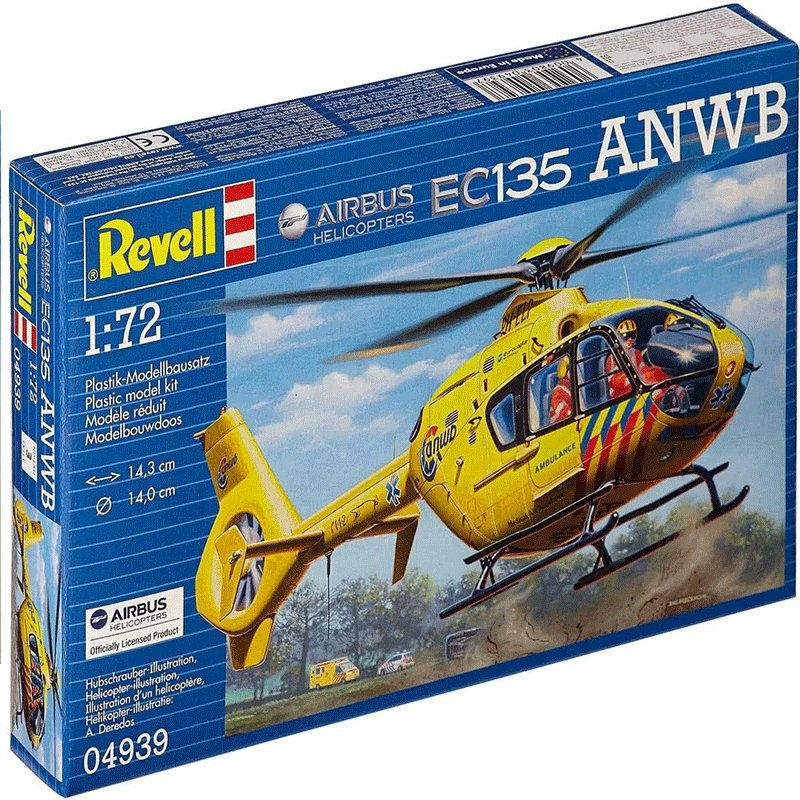 AIRBUS-HELICOPTERS-EC135-ANWB REVELL 04939