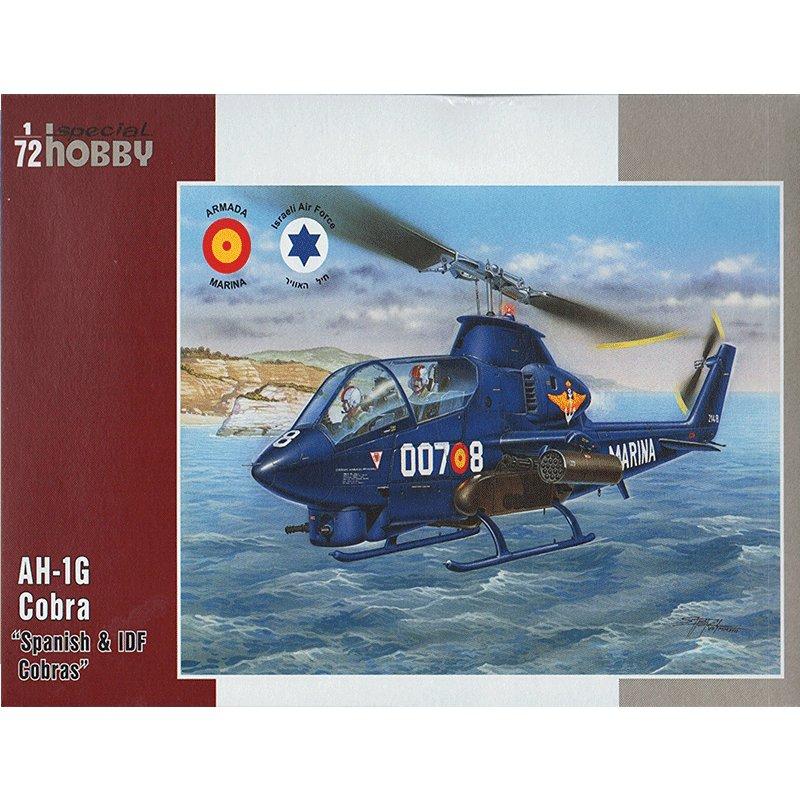 AH-1G-COBRA-SPANISH-AND-IDF-COBRAS SPECIAL HOBBY 72274