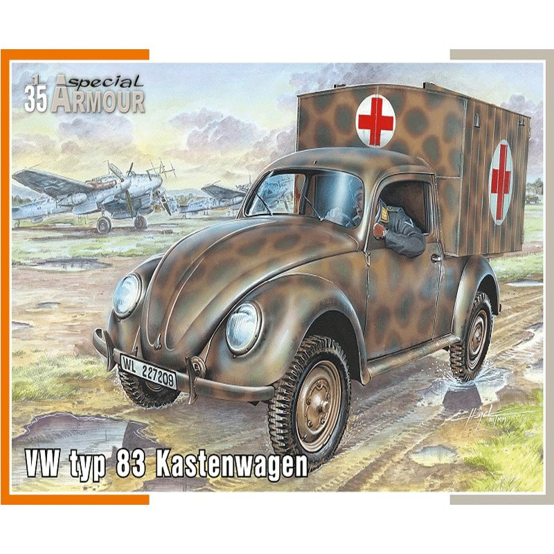 VW-TYP-83-KASTENWAGEN SPECIAL ARMOUR SA35005