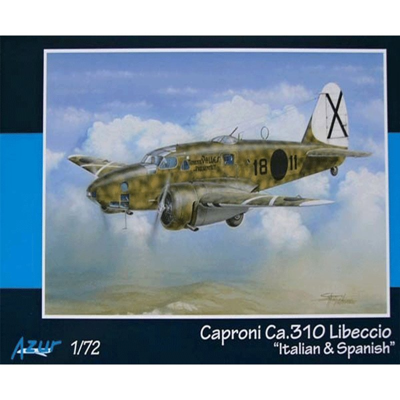 CAPRONI-Ca.310-LIBECCIO-ITALIAN-AND-SPANISH AZUR A106