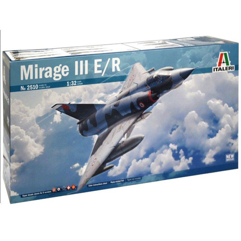 DASSAULT-MIRAGE-III-E-R ITALERI 2510