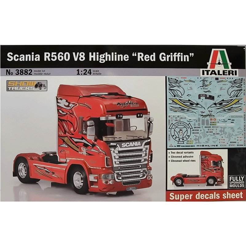 SCANIA-R560-V8-HIGHLINE-RED-GRIFFIN