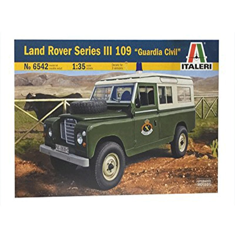 LAND-ROVER-SERIES-III-109-GUARDIA-CIVIL ITALERI 6542