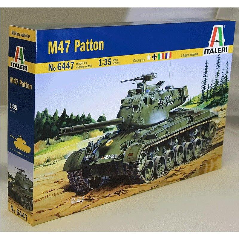 M47-PATTON ITALERI 6447