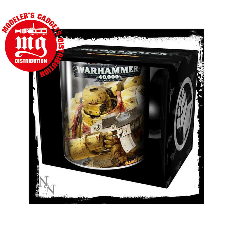 TAZA-WARHAMMER-IMPERIAL-FISTS WARHAMMER 40000