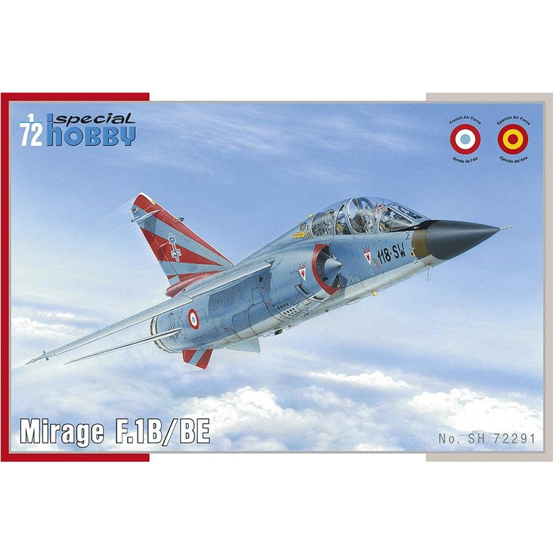 MIRAGE-F.1B SPECIAL HOBBY SH 72291