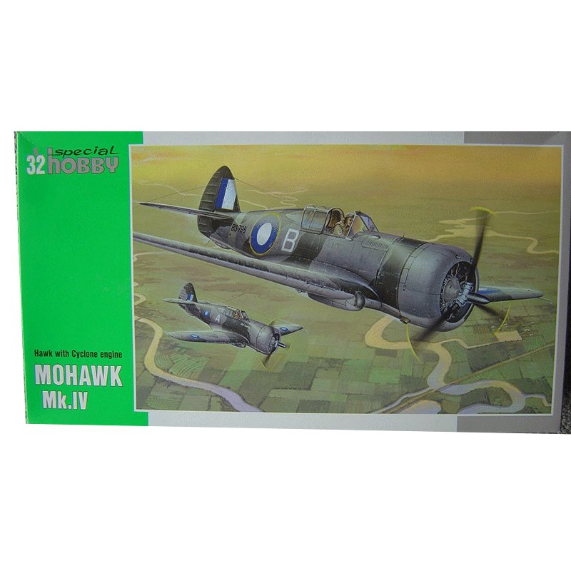 MOHAWK-Mk.IV-HAWK-WITH-CYCLONE-ENGINE SPECIAL HOBBY SH 32016
