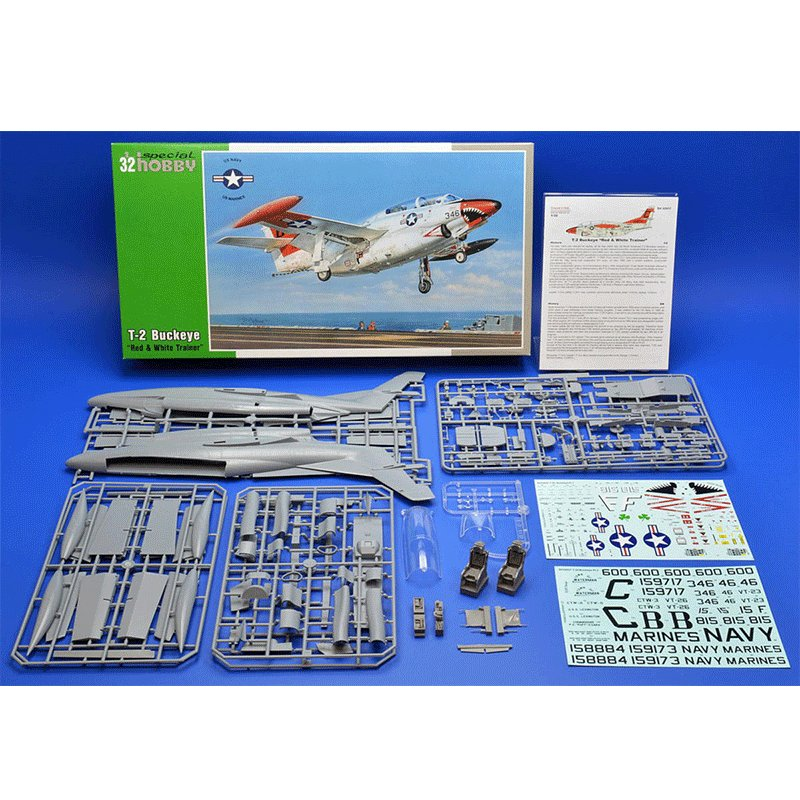 T-2-BUCKEYE-RED-AND-WHITE-TRAINER SPECIAL HOBBY SH 32037