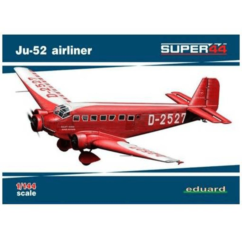 Ju-52-AIRLINER EDUARD 4423