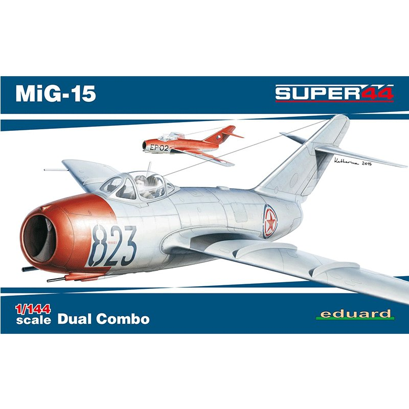 MiG-15-DUAL-COMBO EDUARD 4443