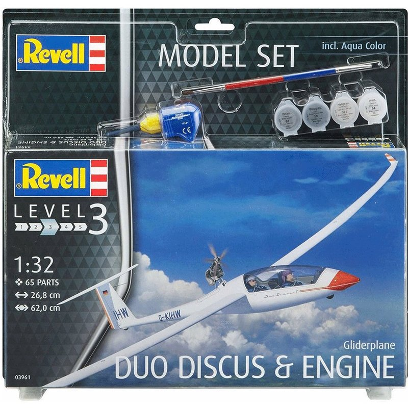 SET-GLIDERPLANE-DUO-DISCUS-AND-ENGINE REVELL 03961