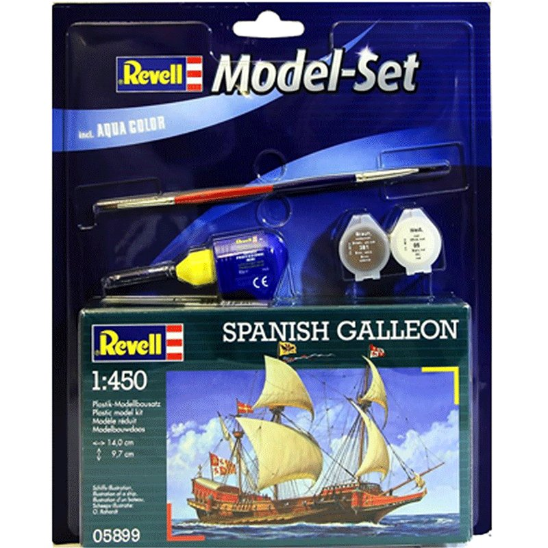 SET-SPANISH-GALLEON-REVELL