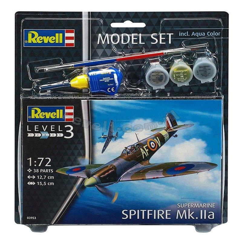 SET-SUPERMARINE-SPITFIRE-Mk.IIa-REVELL 03953