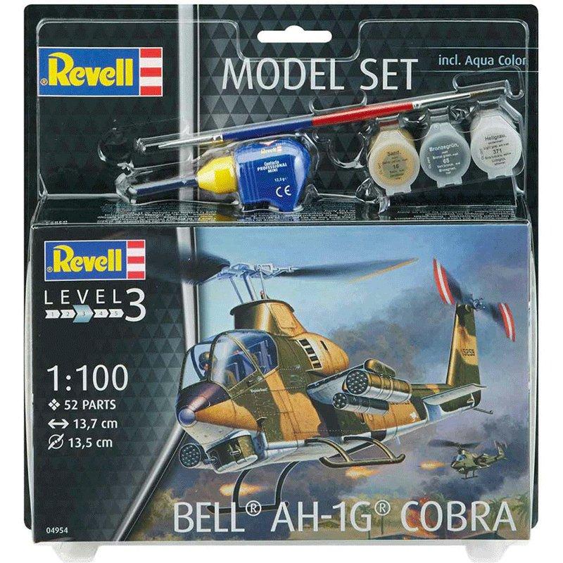 SET-BELL-AH-1G-COBRA REVELL 04954