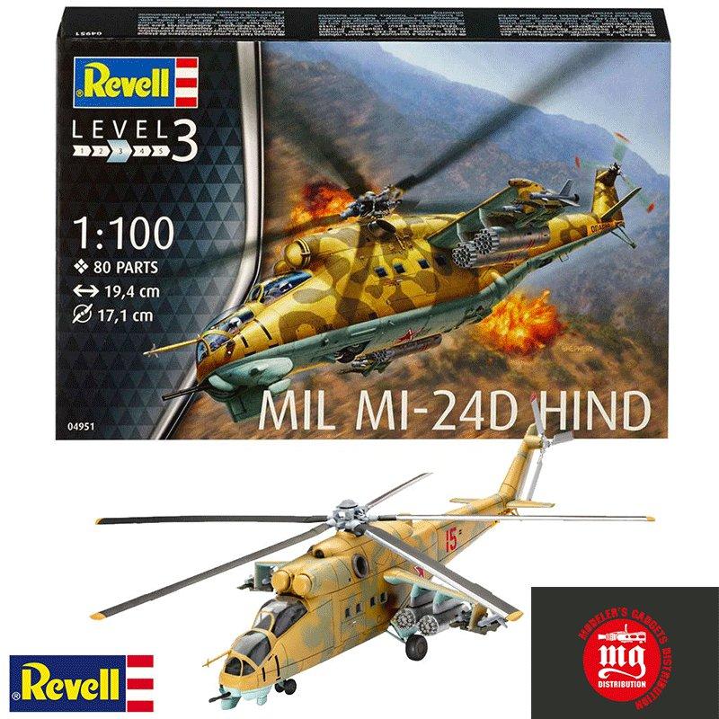MIL-MI-24D-HIND REVELL 04951
