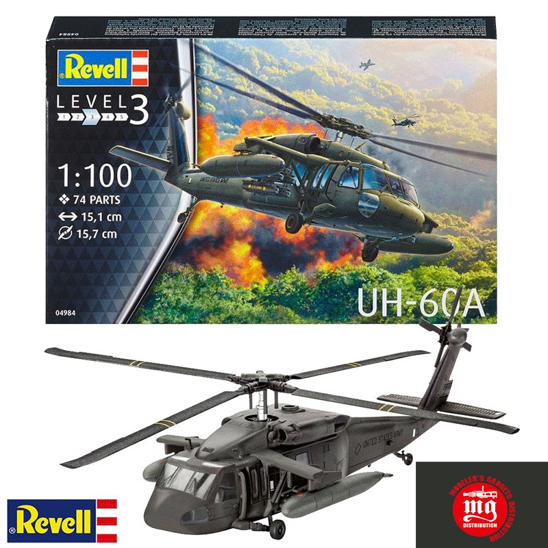 UH-60A REVELL 04984
