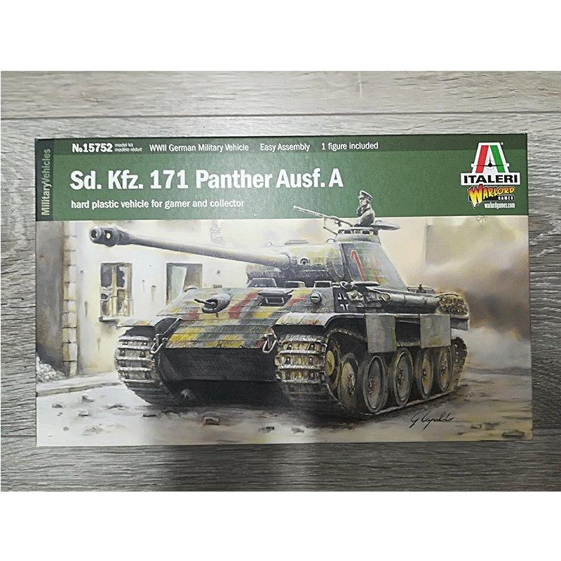 Sd. Kfz. 171 PANTHER Ausf.A ITALERI 15652  ESCALA 1:56