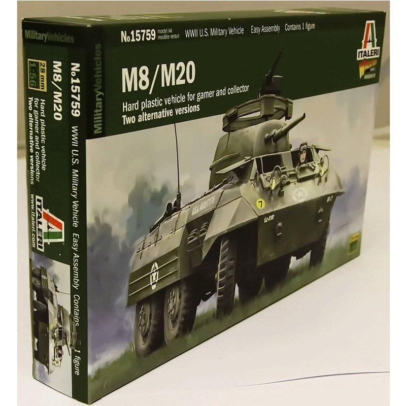 M8-M20 ITALERI 15759 ESCALA 1:56