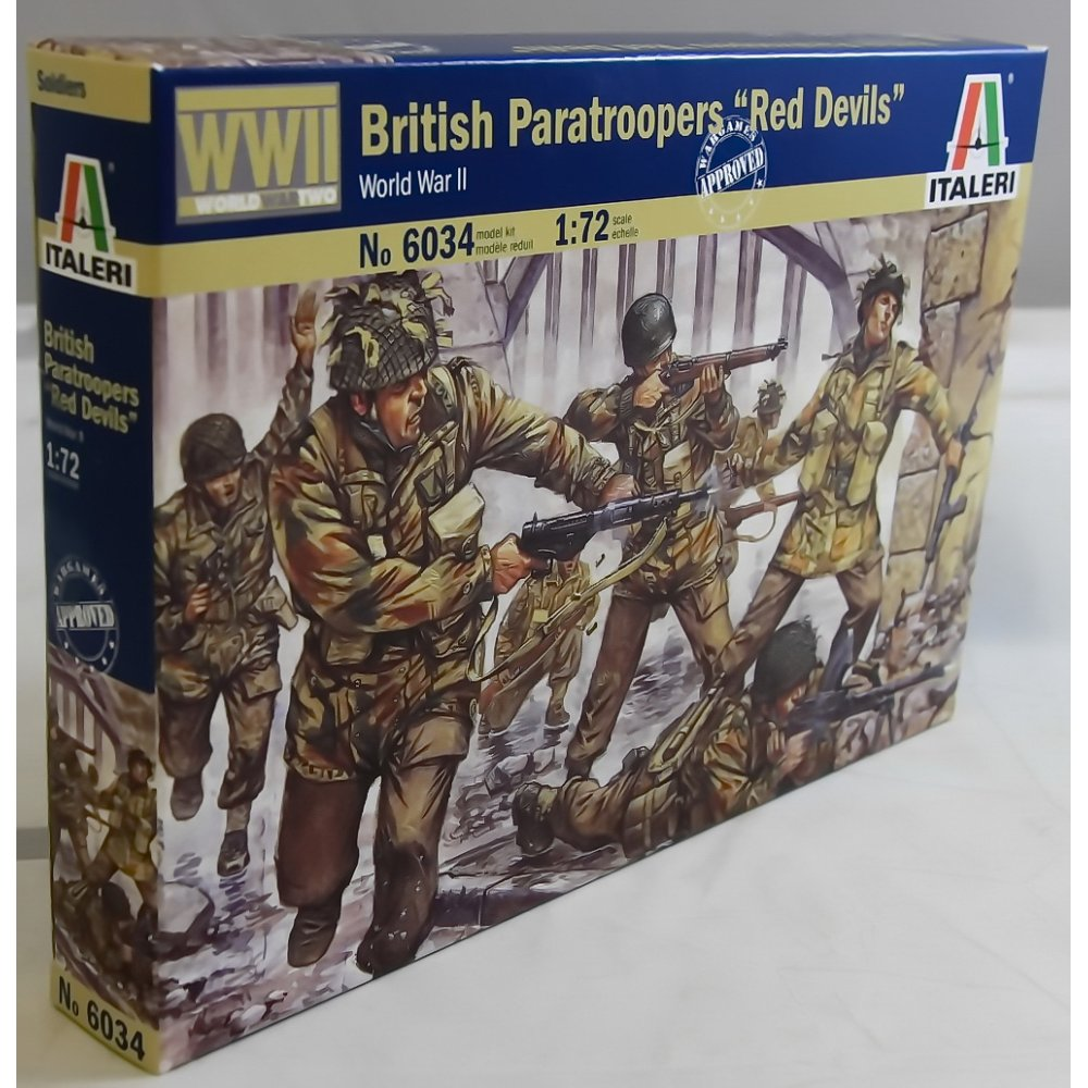 BRITISH PARATROOPERS RED DEVILS